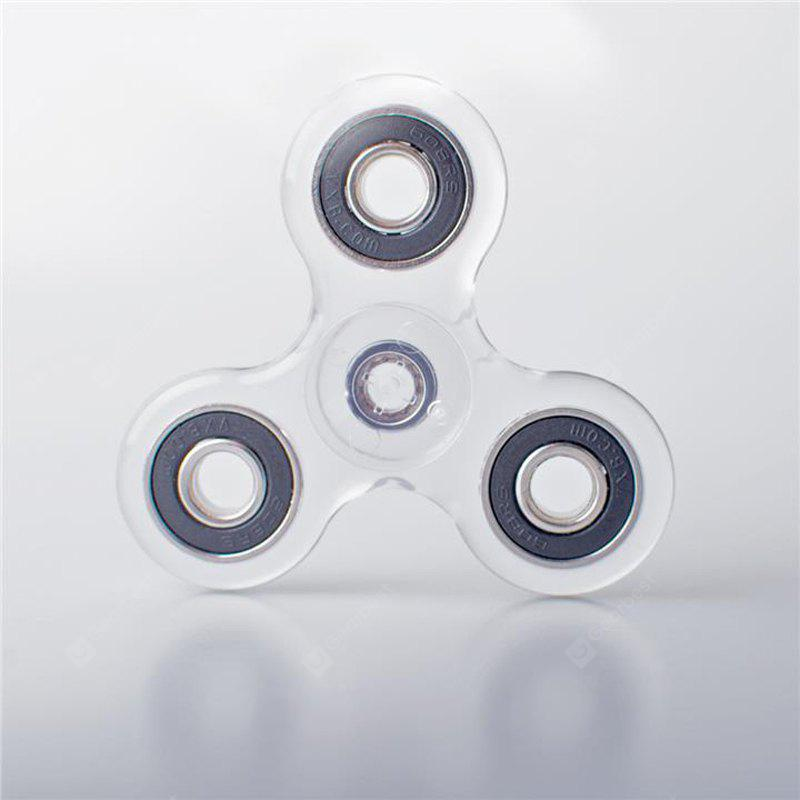 Fidget Spinner in cristallo ABS con luce a LED