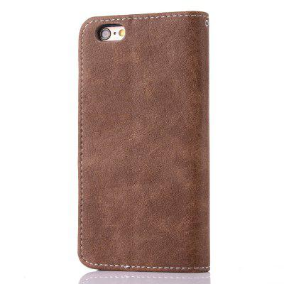 Vintage Small Hit Color PU Leather Wallet Case for iPhone 6 Plus mercury goospery milano diary wallet leather mobile case for iphone 7 plus 5 5 grey