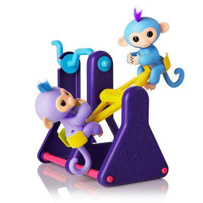 Monkey Climbing Seesaw Jungle Gym Playset Play Tools