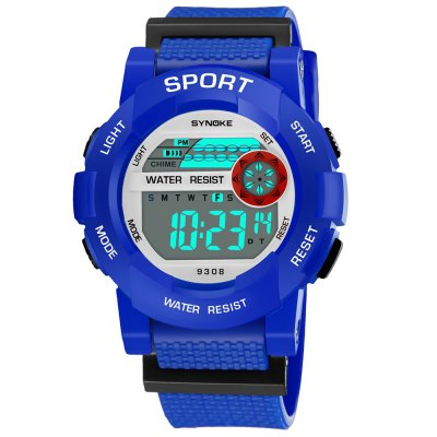 SYNOKE 9308 Student Multifunction Sports Electronic Watch
