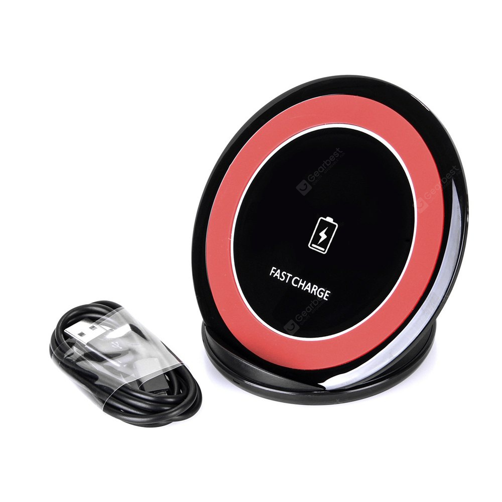 Fast Charger Wireless Charging  Stand Pad for iPhone X / 8 / 8 Plus / Samsung S8 / S8+
