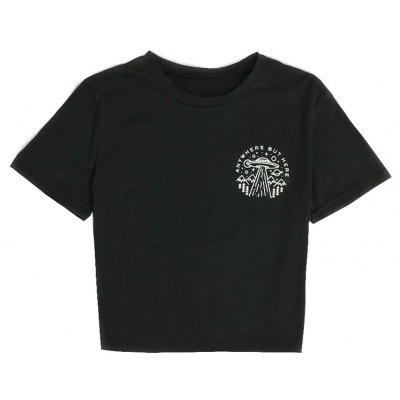 Graphic Printed All-match T-Shirts