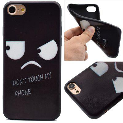 Angry Expressions Soft TPU Silicon Case Cover For iPhone 7/8