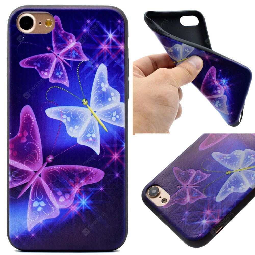 The Butterfly Soft TPU Silicon Case Cover For iPhone 7/8
