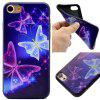 The Butterfly Soft TPU Silicon Case Cover For iPhone 7/8 - COLORFUL