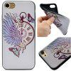 Pocket Watch Pattern Soft TPU Silicon Case Cover For iPhone 7/8 - COLORFUL