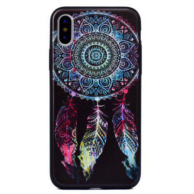 Dreamcatcher Soft TPU Silicon Case Cover For iPhone XiPhone Cases/Covers<br>Dreamcatcher Soft TPU Silicon Case Cover For iPhone X<br><br>Compatible for Apple: iPhone X<br>Features: Anti-knock<br>Material: TPU<br>Package Contents: 1 x Phone Case<br>Package size (L x W x H): 16.00 x 8.00 x 1.00 cm / 6.3 x 3.15 x 0.39 inches<br>Package weight: 0.0160 kg<br>Style: Pattern