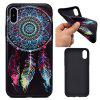 Dreamcatcher Soft TPU Silicon Case Cover For iPhone X - COLORFUL