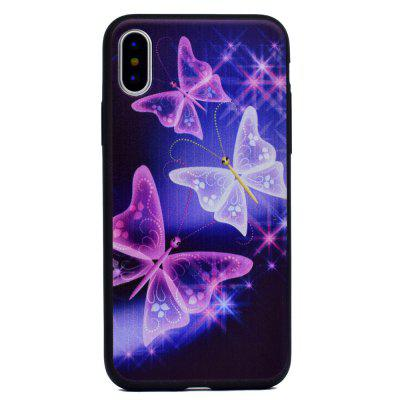 The Butterfly Soft TPU Silicon Case Cover For iPhone XiPhone Cases/Covers<br>The Butterfly Soft TPU Silicon Case Cover For iPhone X<br><br>Compatible for Apple: iPhone X<br>Features: Anti-knock<br>Material: TPU<br>Package Contents: 1 x Phone Case<br>Package size (L x W x H): 16.00 x 8.00 x 1.00 cm / 6.3 x 3.15 x 0.39 inches<br>Package weight: 0.0160 kg<br>Style: Pattern