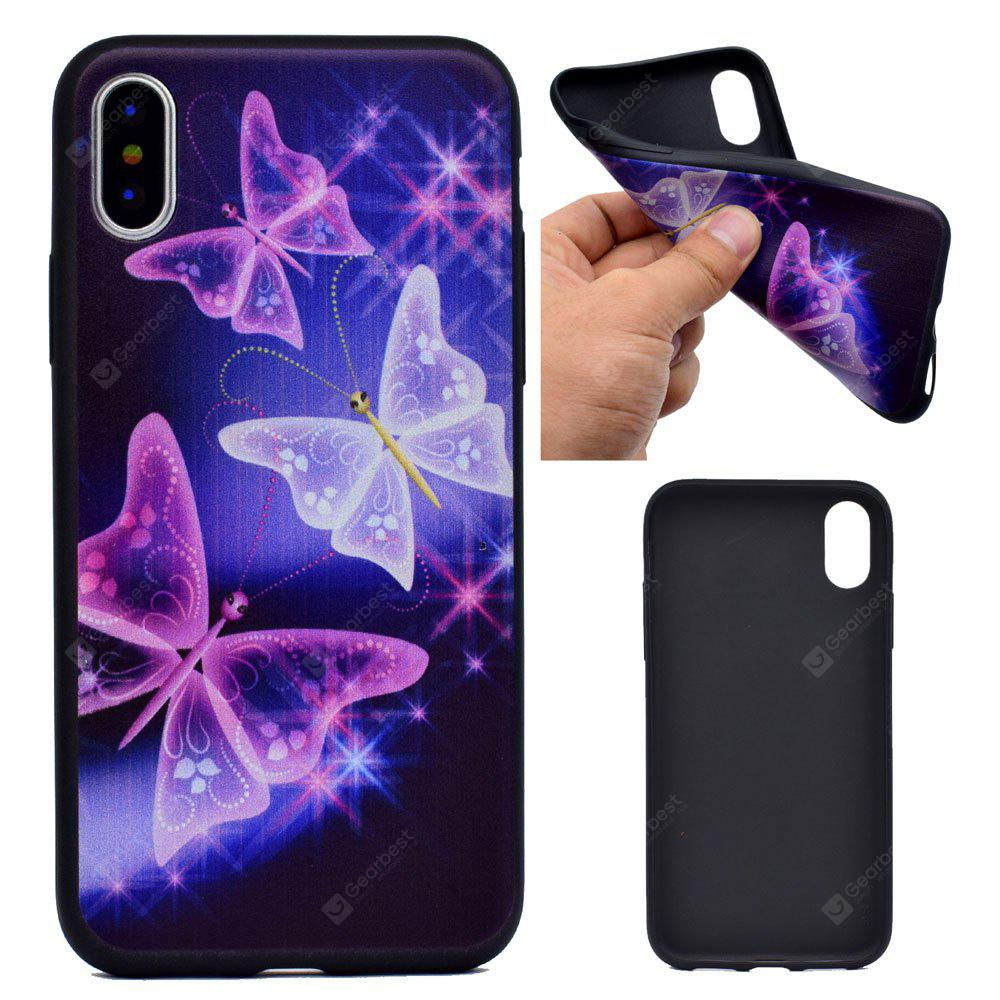 The Butterfly Soft TPU Silicon Case Cover For iPhone X