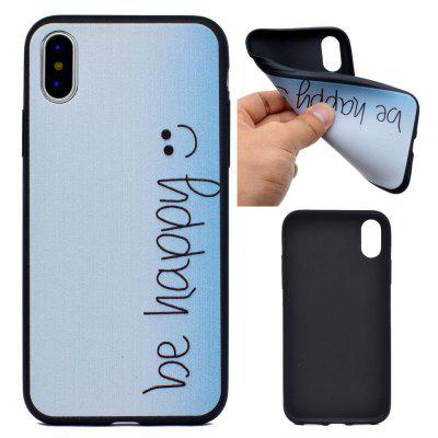 Happy Soft TPU Silicon Case Cover For iPhone X