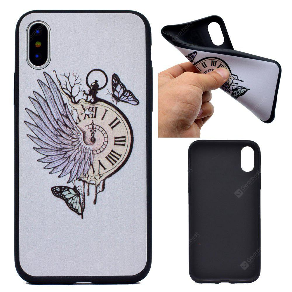 Pocket Watch Soft TPU Silicon Case Cover For iPhone X