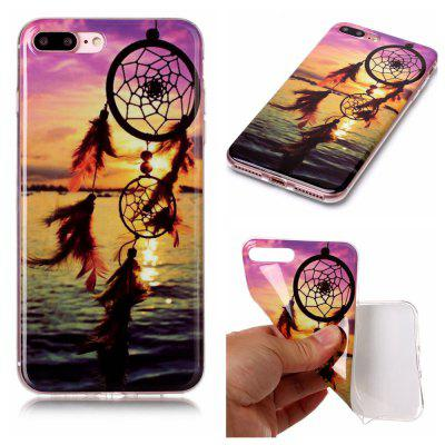 Wind Chimes Ultra Thin Slim Soft TPU caso de silicone para iPhone 7 Plus / 8 Plus