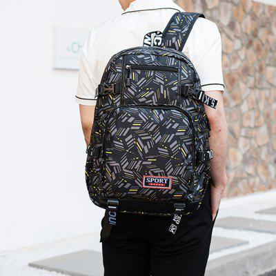 Fashion Canvas Backpack Outdoor BackpackBackpacks<br>Fashion Canvas Backpack Outdoor Backpack<br><br>Color: Black<br>For: Other, Adventure, Traveling<br>Material: Canvas<br>Package Contents: 1 x backpack<br>Package size (L x W x H): 30.00 x 15.00 x 46.50 cm / 11.81 x 5.91 x 18.31 inches<br>Package weight: 0.6700 kg<br>Product weight: 0.6700 kg<br>Type: Backpack