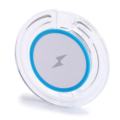 S3 5W Round Qi Wireless Charging Pad for iPhone X / 8 / 8 Plus Samsung Note 8 and Other Smartphone