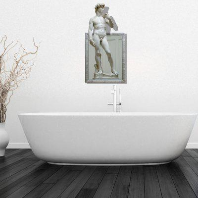 Personalized Creative 3D European Body Sculpture Home Background Wall Stickers