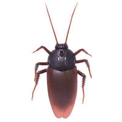Gearbest Infrared Remote Control Realistic Fake Cockroach RC Prank Toys Insects Joke Scary Trick Bugs for Party