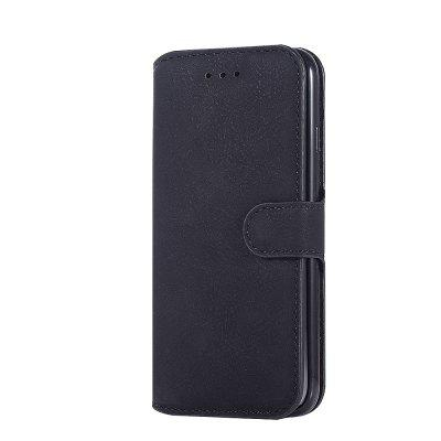 Genuine Leather Protective Folio Case Flip Cover with Stand for iPhone 7 / 8