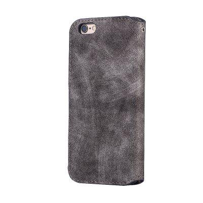 Genuine Leather Protective Folio Case Flip Cover with Stand for iPhone 6 Plus / 6S Plus floveme genuine leather waist phone pouch cover for iphone 7 plus 6s plus 6 plus with card slots dark grey