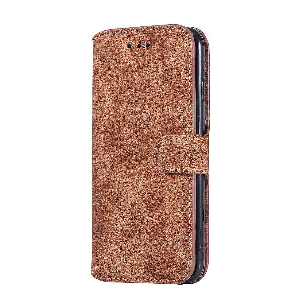 Genuine Leather Protective Folio Case Flip Cover with Stand for iPhone 6 Plus / 6S Plus
