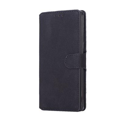 Genuine Leather Protective Folio Case Flip Cover with Stand  for Samsung Galaxy Note 8