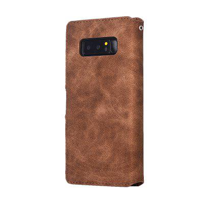 Genuine Leather Protective Folio Case Flip Cover with Stand  for Samsung Galaxy Note 8Samsung Note Series<br>Genuine Leather Protective Folio Case Flip Cover with Stand  for Samsung Galaxy Note 8<br><br>Color: Black,Brown,Gray,Dark blue<br>Compatible for Samsung: Samsung Galaxy Note 8<br>Features: Cases with Stand, With Credit Card Holder, Anti-knock, Dirt-resistant<br>For: Samsung Mobile Phone<br>Material: Genuine Leather, TPU<br>Package Contents: 1 x Case<br>Package size (L x W x H): 16.00 x 8.00 x 2.00 cm / 6.3 x 3.15 x 0.79 inches<br>Package weight: 0.0790 kg<br>Product weight: 0.0750 kg<br>Style: Retro, Solid Color, Leather
