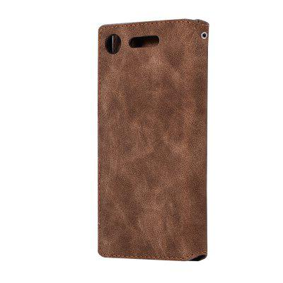 Genuine Leather Protective Folio Case Flip Cover with Stand for Sony XZ1Cases &amp; Leather<br>Genuine Leather Protective Folio Case Flip Cover with Stand for Sony XZ1<br><br>Color: Black,Brown,Gray,Dark blue<br>Features: Cases with Stand, With Credit Card Holder, Anti-knock, Dirt-resistant<br>Mainly Compatible with: Sony<br>Material: Genuine Leather, TPU<br>Package Contents: 1 x Case<br>Package size (L x W x H): 14.00 x 7.00 x 2.00 cm / 5.51 x 2.76 x 0.79 inches<br>Package weight: 0.0790 kg<br>Product weight: 0.0700 kg<br>Style: Solid Color, Vintage