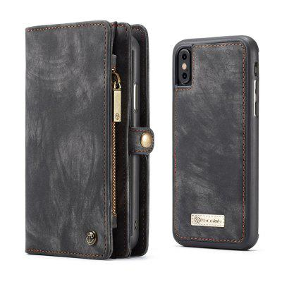 Genuine Leather 11 Card Slots Detachable Wallet Case for iPhone XiPhone Cases/Covers<br>Genuine Leather 11 Card Slots Detachable Wallet Case for iPhone X<br><br>Color: Black,Red,Green,Brown<br>Compatible for Apple: iPhone X<br>Features: Cases with Stand, With Credit Card Holder, Anti-knock, Dirt-resistant, Wallet Case<br>Material: TPU, Genuine Leather<br>Package Contents: 1 x Case<br>Package size (L x W x H): 15.00 x 8.40 x 2.30 cm / 5.91 x 3.31 x 0.91 inches<br>Package weight: 0.1370 kg<br>Product weight: 0.1300 kg<br>Style: Vintage, Solid Color