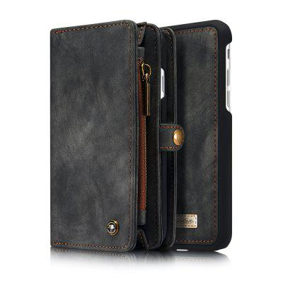 Genuine Leather 11 Card Slots Detachable Wall...