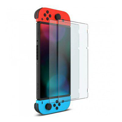 2 stks gehard glas screen protector voor Nintendo Switch