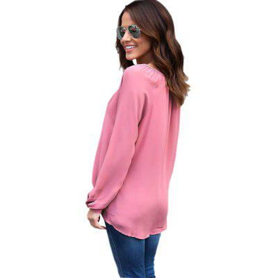 Irregular Chiffon Dress Blouse V Neck Long Sleeve Cardigan CoatBlouses<br>Irregular Chiffon Dress Blouse V Neck Long Sleeve Cardigan Coat<br><br>Collar: V-Neck<br>Elasticity: Nonelastic<br>Fabric Type: Chiffon<br>Material: Polyester<br>Package Contents: 1xShirt<br>Pattern Type: Solid<br>Shirt Length: Regular<br>Sleeve Length: Long Sleeves<br>Style: Fashion<br>Weight: 0.1550kg