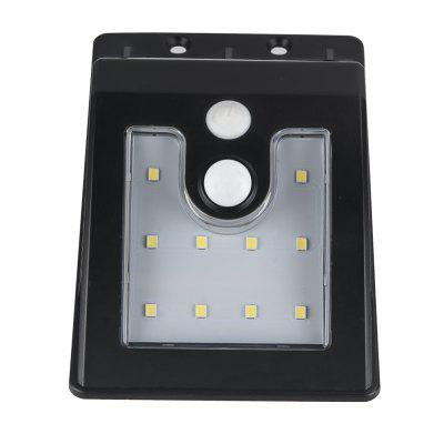 Outdoor Solar Powered 10LEDs PIR Motion Sensor Wall Light