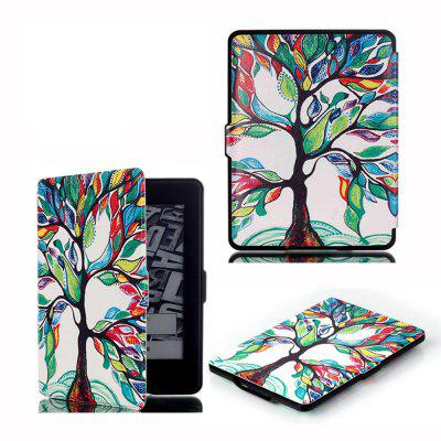 PU Leather Smart Cover for All-New Kindle Paperwhite with Auto Sleep / Wake Function