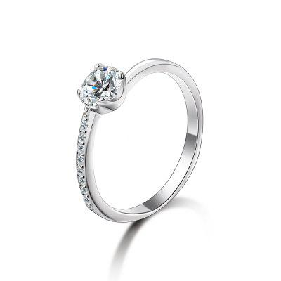 SH - STAR HARVEST 925 Sterling Silver Jewelry AAA Cubic Zircon Ring for Female