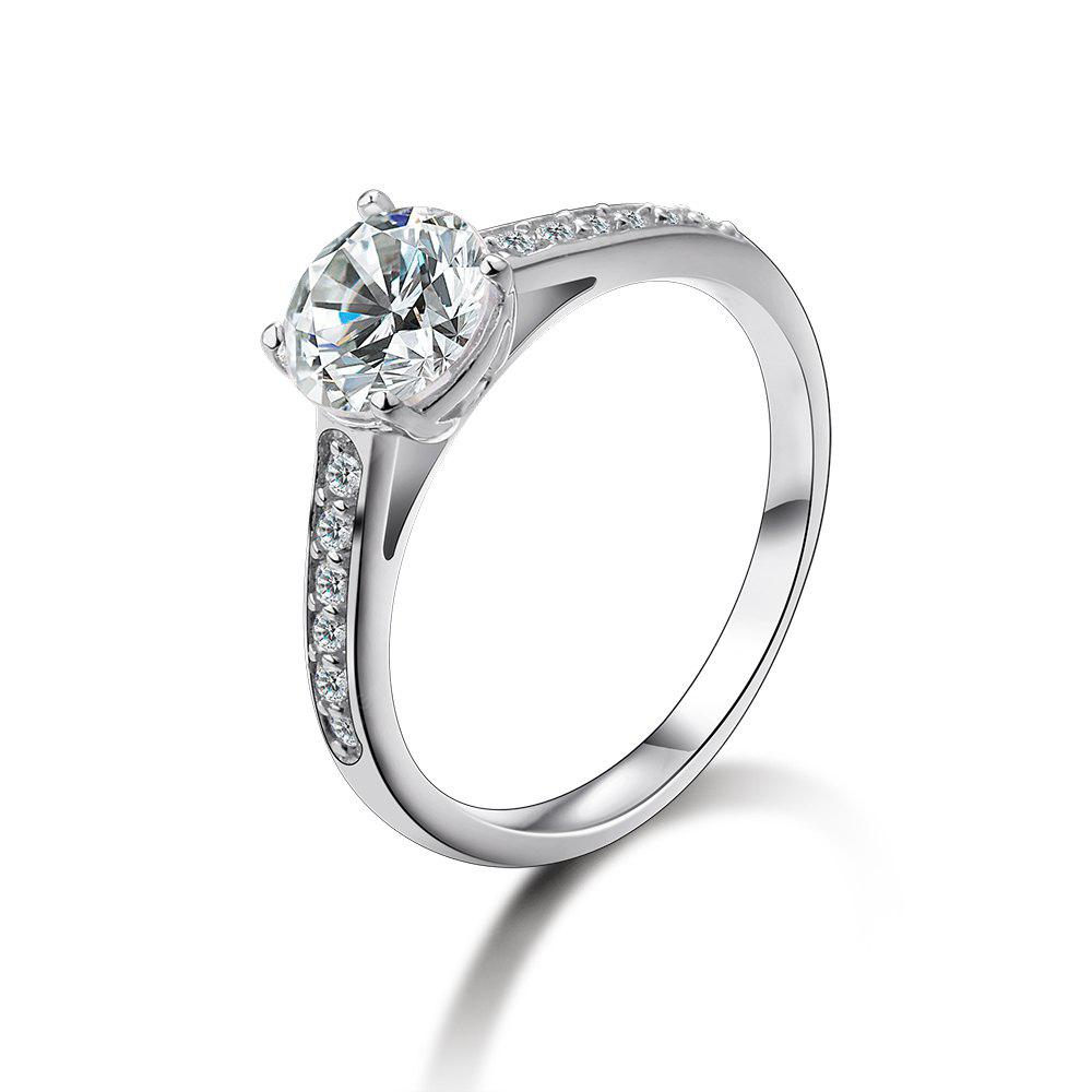 SH - STAR HARVEST 925 Sterling Silver Jewelry AAA Cubic Zircon Ring for Female SR - 0222