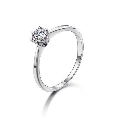 SH - STAR HARVEST 925 Sterling Silver Jewelry AAA Cubic Zircon  Ring for  Female SR - 0225