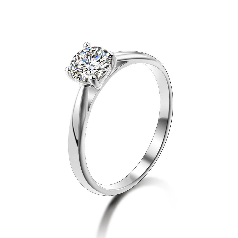 SH - STAR HARVEST 925 Sterling Silver Jewelry AAA Cubic Zircon Ring for  Female SR - 0228