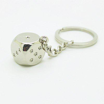 Creative Dice Pendant Key Chain