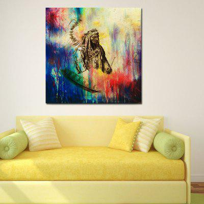 Abstract Frameless Canvas Print for Home Wallart Decoration