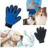 Lovoyager SZ1114 1PCS New Pet Clean Combing Cats Dogs Brush Glove Pet Efficient Massage Grooming Easy Hair Away - BLUE