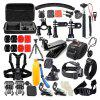 Accessory Kit for Gopro 48 in 1 Waterproof 147-Action Camera for Xiaomi - BLACK