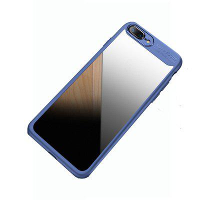 Transparent PC TPU Silicone Cover Case for iPhone 8 Plus imd patterned tpu gel cover for iphone 7 plus 5 5 inch tribal dream catcher
