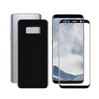 Front + Înapoi 3D Anti-amprente colorate Invisibleshield Oleophobic Telefon mobil Smartphone Cover full Screen Protector