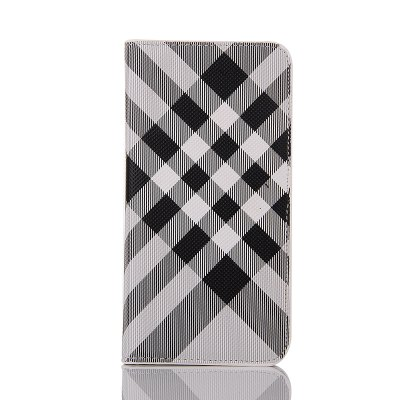 Grid Seven Pattern PU Leather Case for iPhone 7 / 8