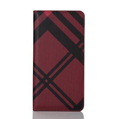 Grid Seven Pattern PU Leather Case for iPhone 7 Plus / 8 Plus