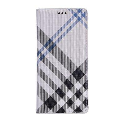Grid Seven Pattern PU Leather Case for Samsung Galaxy Note8