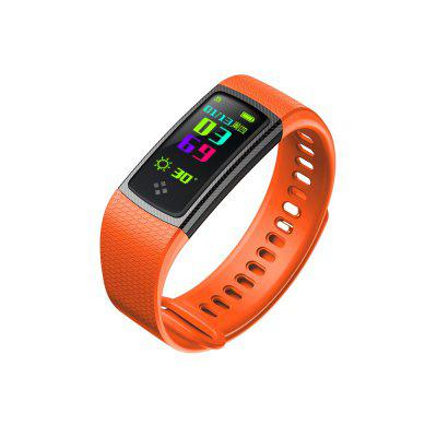 S9 Color Screen Blood Pressure Oxygen Heart Rate Monitor Sport Smart Watch for Android / iOSSmart Watches<br>S9 Color Screen Blood Pressure Oxygen Heart Rate Monitor Sport Smart Watch for Android / iOS<br><br>Available Color: Black,Red,Purple,Orange,Light blue,Deep Blue<br>Band material: Silicone<br>Battery  Capacity: 80mAh<br>Bluetooth Version: Bluetooth 4.0<br>Case material: TPU<br>Charging Time: About 2hours<br>Compatability: Android 6.0 and above / iOS 8.0 and above<br>Compatible OS: Android, IOS<br>Functions: Message management, Measurement of heart rate, Sleep management, Camera remote control, Steps counting, Call reminder, Distance recording, Calories burned measuring, Sedentary reminder, Incoming calls show, Pedometer, Date, Alarm Clock, Time<br>IP rating: IP67<br>Notification type: Wechat<br>Operating mode: Touch Screen<br>Package Contents: 1 x S9 Smart Band, 1 x Chinese and English User Manual<br>Package size (L x W x H): 14.80 x 8.80 x 3.00 cm / 5.83 x 3.46 x 1.18 inches<br>Package weight: 0.1047 kg<br>People: Male table,Female table<br>Product size (L x W x H): 5.30 x 2.02 x 1.04 cm / 2.09 x 0.8 x 0.41 inches<br>Product weight: 0.0210 kg<br>Screen type: OLED<br>Shape of the dial: Rectangle<br>Standby time: 10 days<br>Type of battery: Li-polymer<br>Waterproof: Yes<br>Wearable length: 200mm