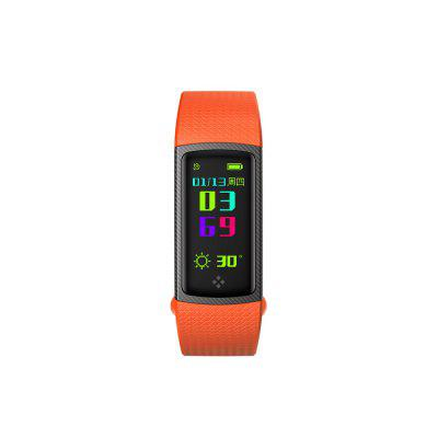 S9 Color Screen Blood Pressure Oxygen Heart Rate Monitor Sport Smart Watch for Android / iOS