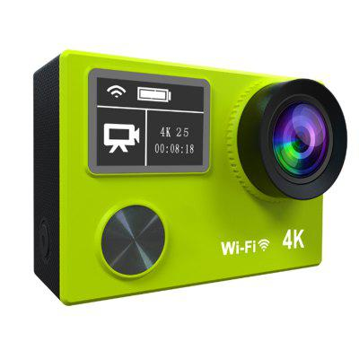 4K Waterproof Sport DV Dual  Panel 1080P Full HD WIFI 170 Degree 6 Glass Mini Multi-function Camera