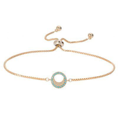 Bracciale in rame da donna Fashion Circle